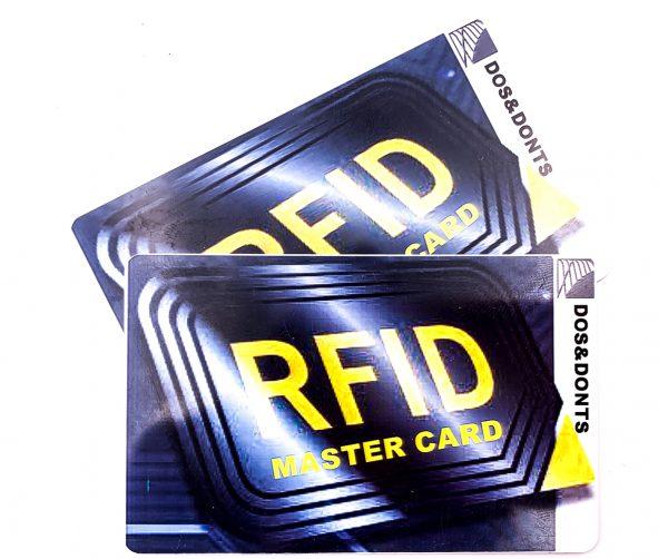 RFID MASTER CARD
