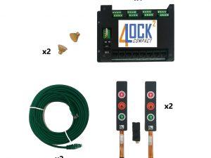 Kit semaforico interblocco 2 porte
