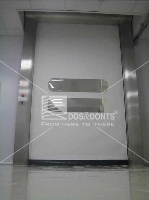 Porte industriali avvolgibili