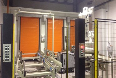 Smart rapid roll doors